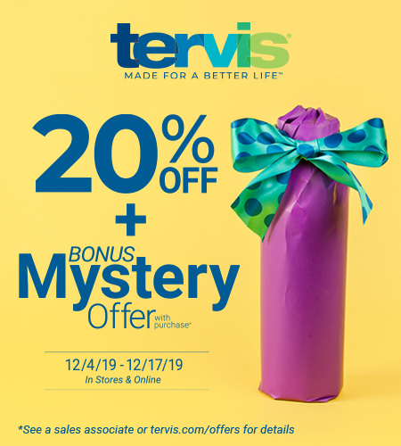 Tervis Mystery Promo
